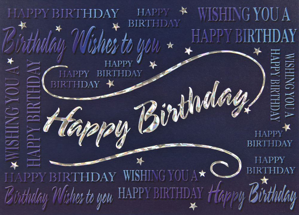 Multiple Wishes Happy Birthday Cards Target Office Products Inc